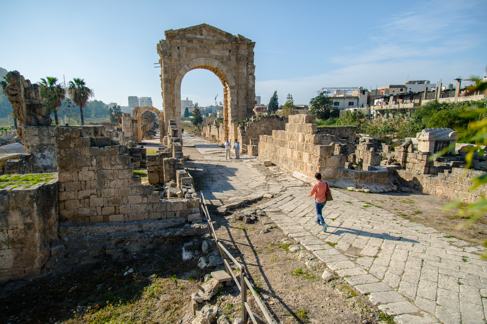 The Triumphal Arch at Tyre